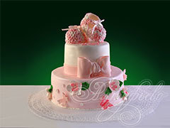Торт для новорожденной