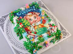 Новогодний торт «Веселый праздник»