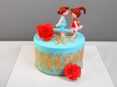 Торт «Сладкий подарок для любимой»