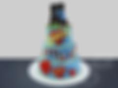 Свадебный торт «Love is…» («Любовь это…»)