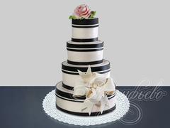 Торт «Слияние двух судеб»
