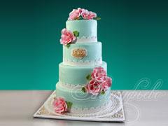 Свадебный торт «В ритме вдохновения»